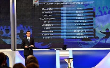 Serie A, anticipi e posticipi di 1^ e 2^ giornata