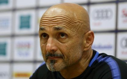 """Inter, Spalletti: """"Mi aspetto ancora di più"""""""