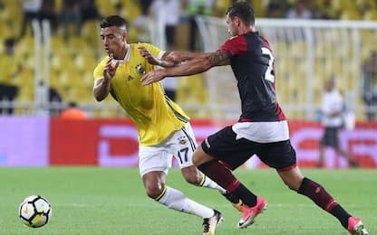 Amichevole, Cagliari battuto 1-0 dal Fenerbahçe
