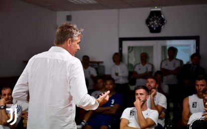 Qui Vinovo, la Juventus a scuola di VAR
