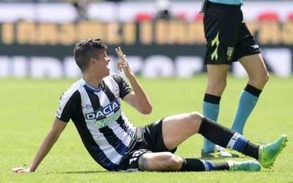 Udinese, trauma distorsivo per Perica