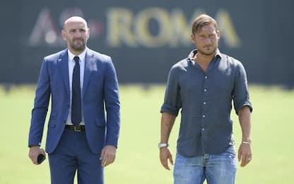 """Totti dirigente, Monchi twitta: """"Nessuno come te"""""""