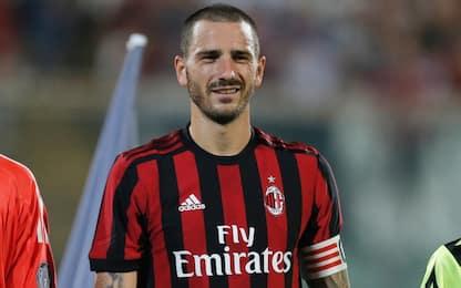 Milan, Bonucci: esordio con la fascia da capitano