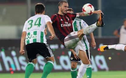 Il Betis stende il Milan 2-1, decisivo il Var