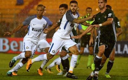 Inter, basta Icardi con il Betis: 1-0 a Lecce