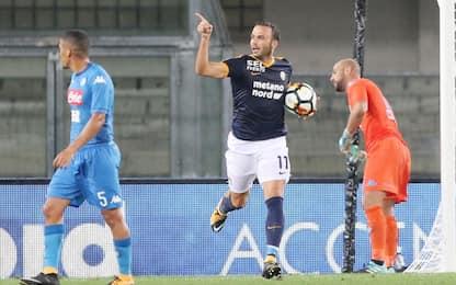 Hellas, Pazzini: esultanza polemica dopo il gol