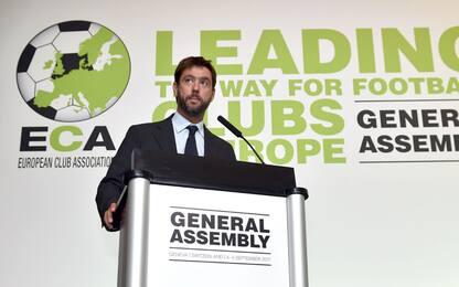 """ECA, Agnelli: """"Var dappertutto entro il 2020"""""""