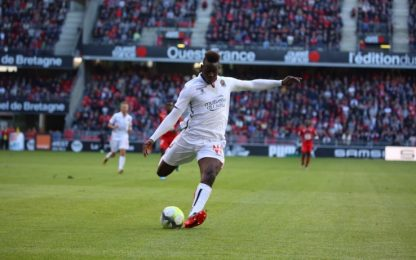Balotelli gol e il Nizza vince: Rennes battuto 1-0