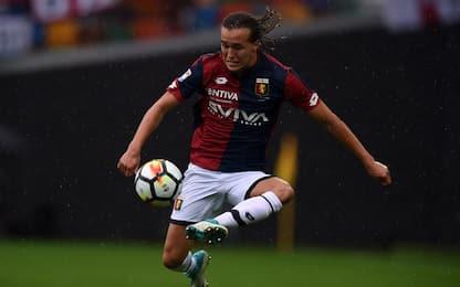 Genoa, niente di grave l'infortunio di Laxalt