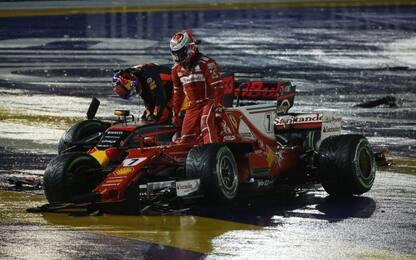 """Verstappen: """"Non capisco Seb, errore che costa..."""""""