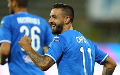 Empoli, colpo a Parma. Frosinone in vetta al 95'