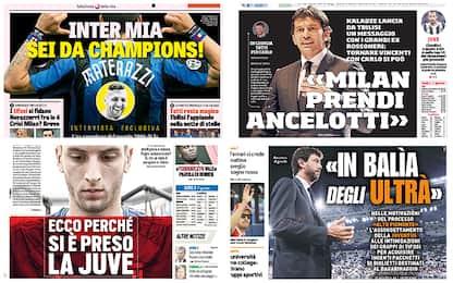 Juventus, Inter, Totti e non solo: rassegna stampa
