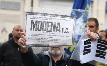 Modena, sgomberato lo stadio Braglia