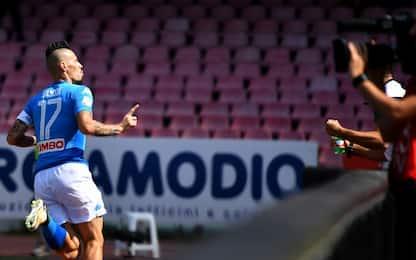 """Hamsik: """"Il Napoli più bello. Scudetto? Ci siamo"""""""