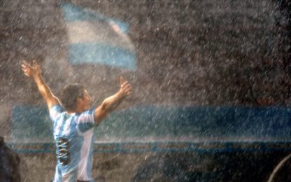 """Miracolo nella pioggia: e """"San"""" Martìn salvò Diego"""