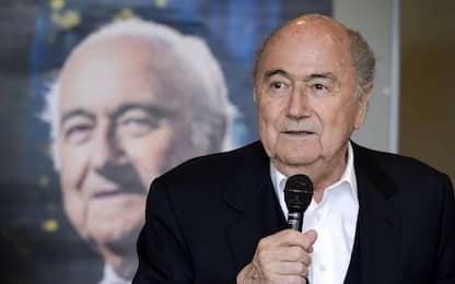 """Blatter: """"Vittima di un complotto. E l'Italia..."""""""