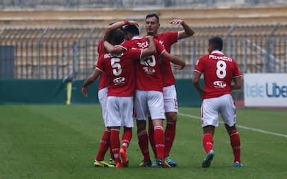 Serie C, risultati e classifica del girone A