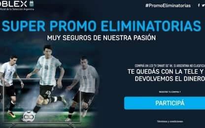 Messi salva l'Argentina e… anche la Noblex