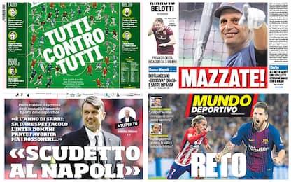 I tre big match in Serie A e non solo: rassegna