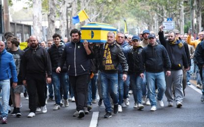 Modena, i giocatori in sciopero: partita rinviata