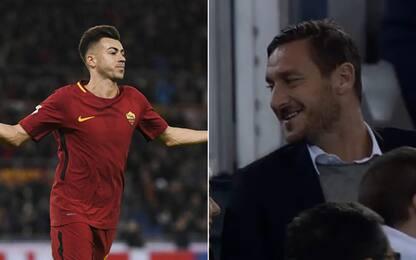 """El Sha-gol, Totti: """"Anche io li facevo così"""""""