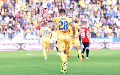 Frosinone in vetta: Parma ko. Inzaghi, che rimonta