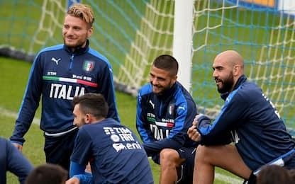 Italia, Ventura pensa al 3-5-2 con Zaza e Immobile