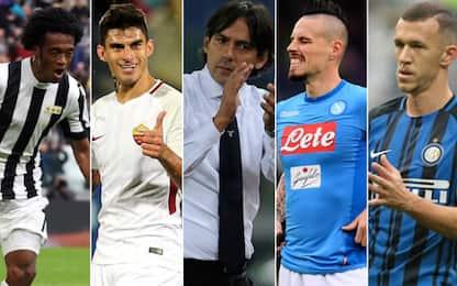 Serie A, tornano le 5 sorelle. Ma la Nazionale...