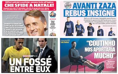 Da Mancini a Svezia-Italia: la rassegna stampa