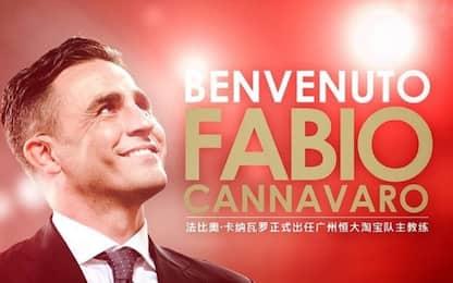 Guangzhou, ufficiale: in panchina torna Cannavaro