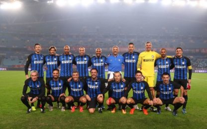 Inter Forever, il Chino batte le China Legends