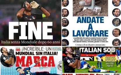 """Italia, """"fuori tutti"""": la rassegna stampa"""