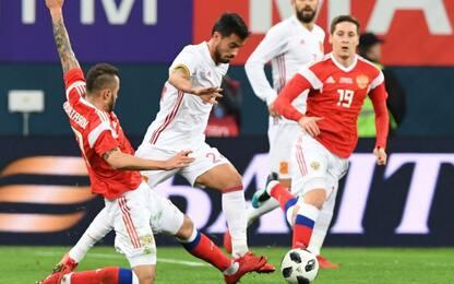 Russia-Spagna show: 3-3 con esordio di Suso