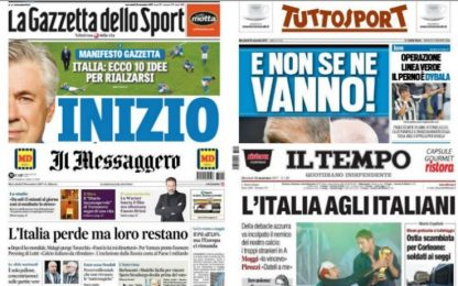 """""""Ancelotti, nuovo inizio"""". La rassegna stampa"""