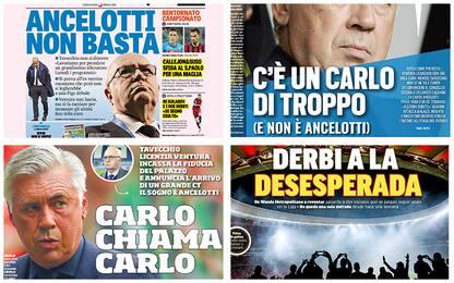 """""""Italia, Ancelotti non basta"""": rassegna stampa"""