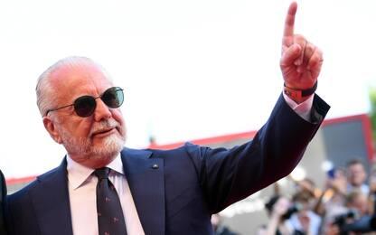 """De Laurentiis: """"Mercato? Abbiamo giocatori a iosa"""""""