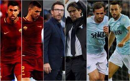 """Roma-Lazio, i """"derby"""" nel derby della capitale"""