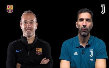 Ricordi e sogni, intervista doppia Iniesta-Buffon