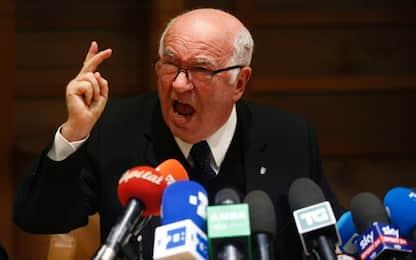 """Lo sfogo di Tavecchio: """"Pago per scelta non mia"""""""