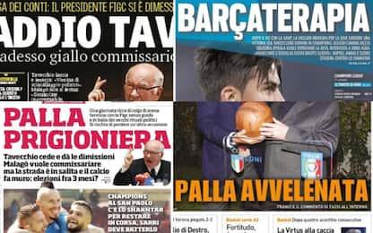 Futuro del calcio e Napoli in Champions: rassegna