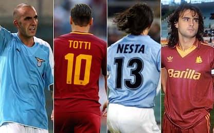 I migliori calciatori romani della Serie A