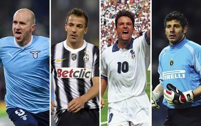 I migliori calciatori veneti della Serie A