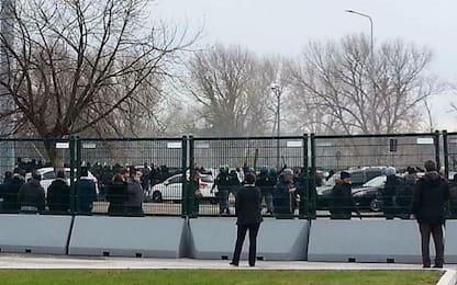 Udinese-Napoli, scontri tra tifosi nel prepartita