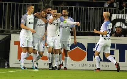 Inter come la Juve di Conte: numeri da Scudetto