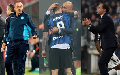 Napoli-Juve secondo Spalletti: meglio un pari...