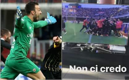 """Brignoli-gol, Balotelli: """"Non ci posso credere"""""""
