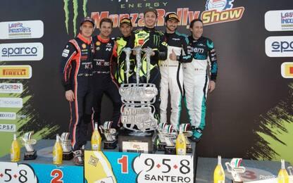 Rally di Monza: trionfa Rossi, 6° titolo per Vale