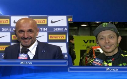 """Rossi a Spalletti: """"Mister, posso giocare ala?"""""""