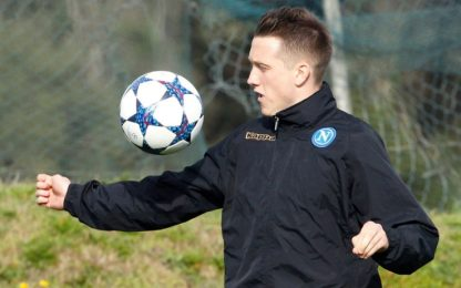 Feyenoord-Napoli: Insigne out, titolare Zielinski
