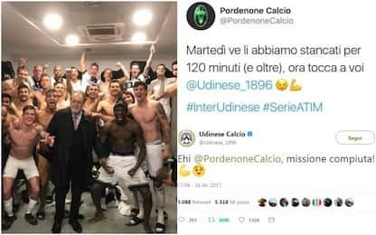 Udinese-Pordenone, se l'alleanza social è friulana